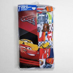 New Disney Pixar Cars Toddler Boys' Briefs 2T-3T